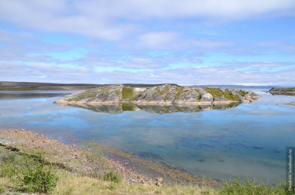 Остров в одном из фьёрдов