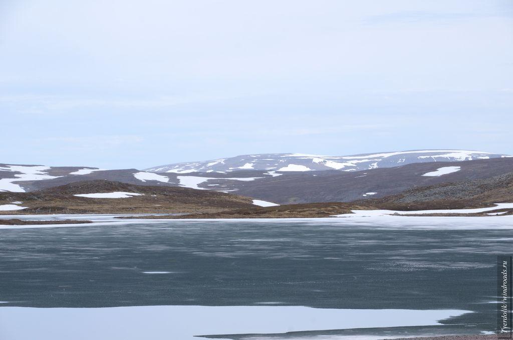 На одном из ледяных плато
