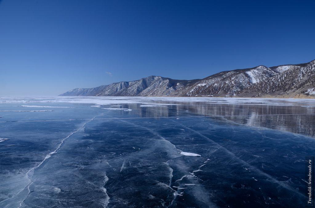 Редкий в этом году лёд